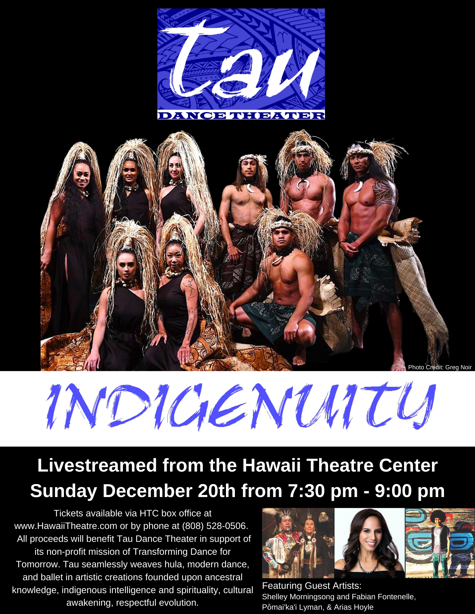 TDT INDIGENUITY 12.20.2020 Ticket Page Graphic